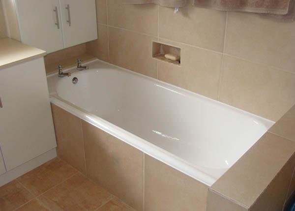 finished bath mend-a-bath reenamel